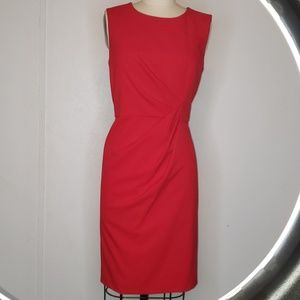 Calvin Klein red dress size 10
